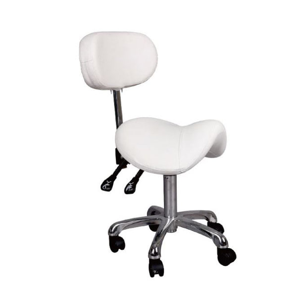 Salon Hydraulic Saddle Stool