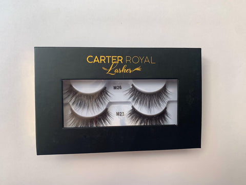Carter Royal Magnetic Strip Lashes (DD)