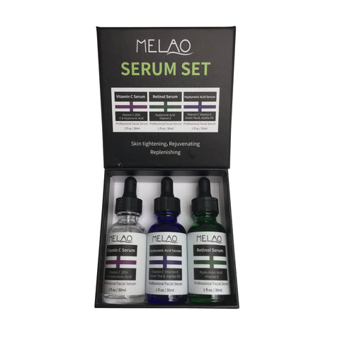 PROFESSIONAL   3 SERUM SET  Melao