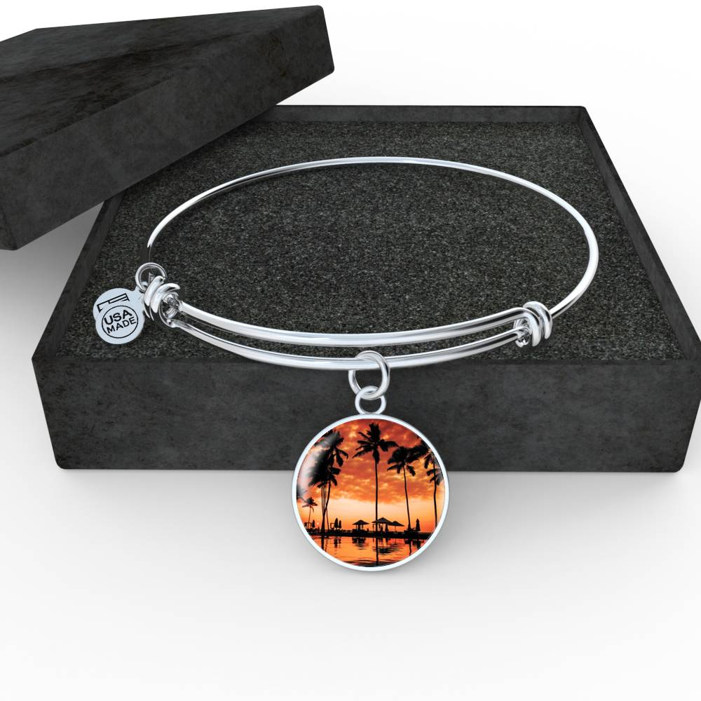 Sunset Palm Bangle