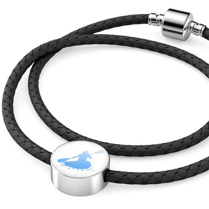 Kayaker Leather Bracelet