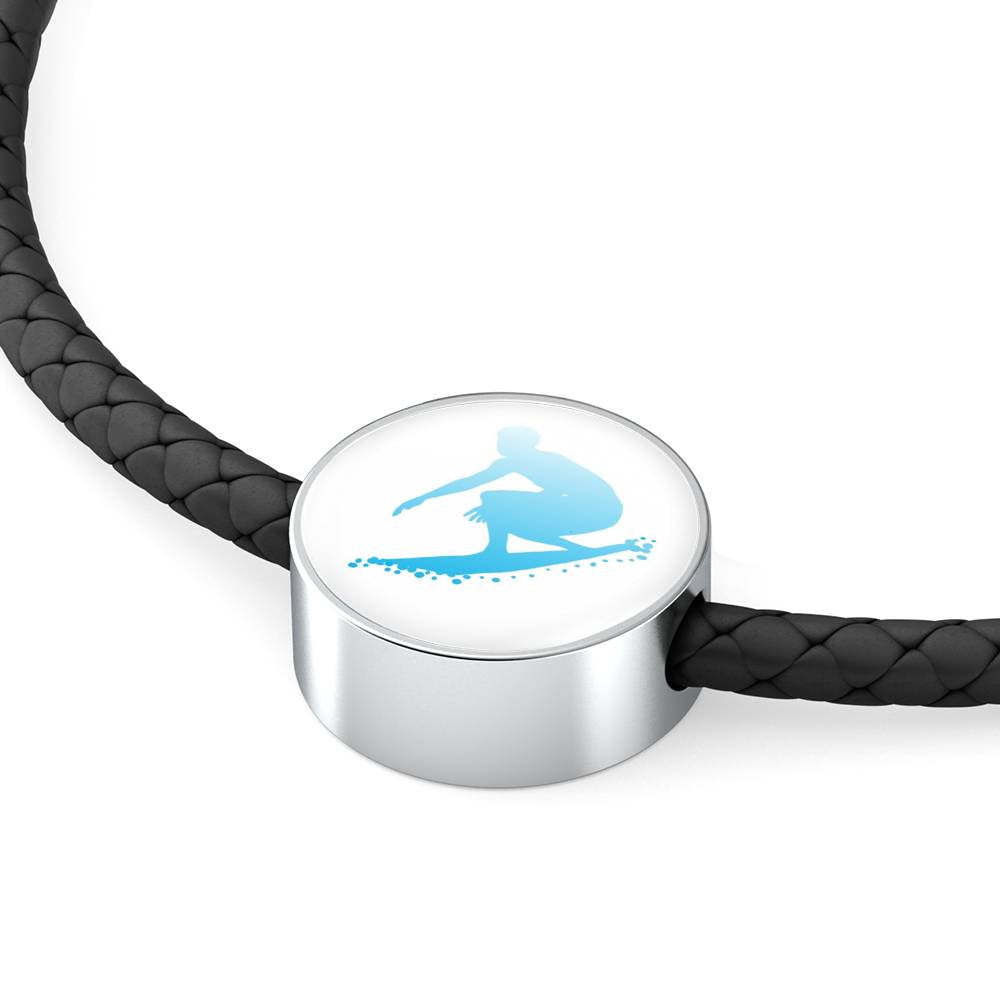 Surfer Leather Bracelet