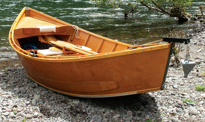 Beauty Beyond Skin Deep - Keith Steele Wooden Drift Boats by Glenn Zinkus