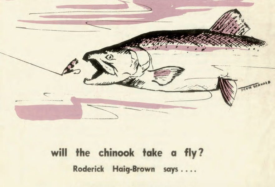 Will the Chinook Take a Fly? by Roderick Haig Brown