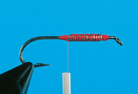 fly tying anchor knot thread wire fishing tie