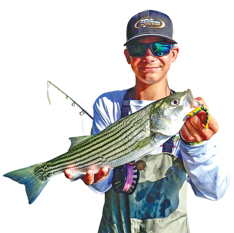 braden miller striped bass fishing striper