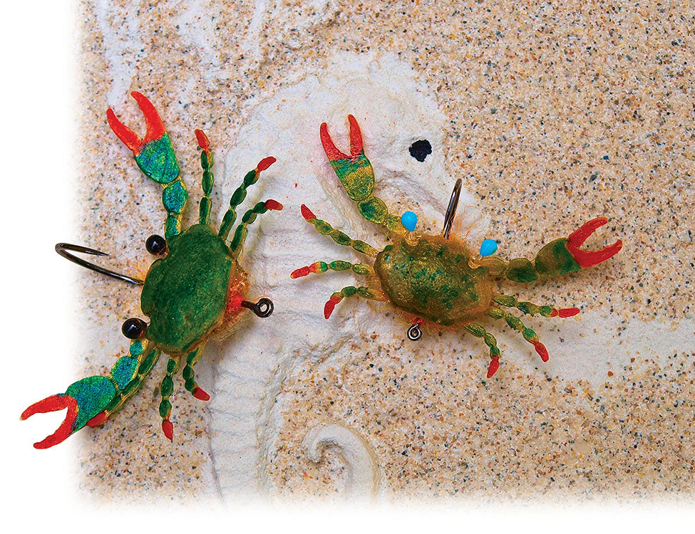 crabs fly fishing crustaceons