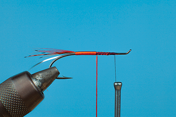 wrap floss fly tying fishing