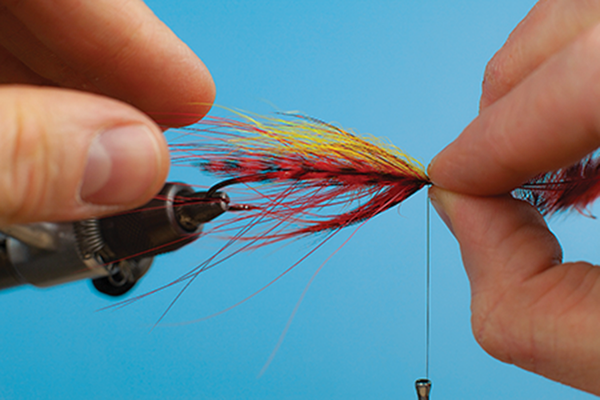 hackles spey fly tying