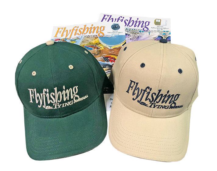 FTJ Hat with 3 Year Subscription to Flyfishing & Tying Journal