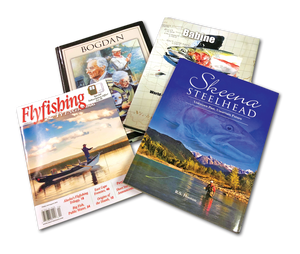 3 Books Skeena, Bogdan & Babine + 1 Year FlyFishing & Tying Journal