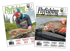 1, 2 or 3-Year Subscription | Flyfishing & Tying Journal