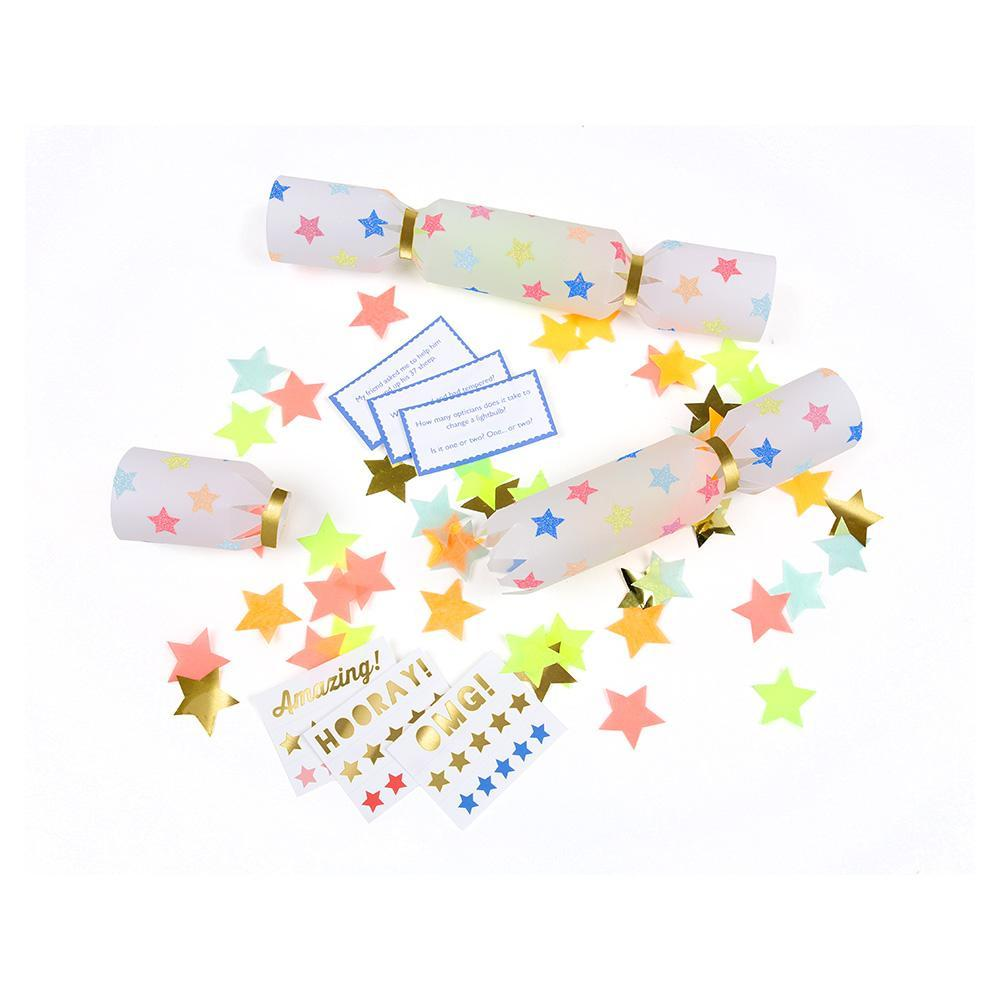 Crackers Multi Star Confetti