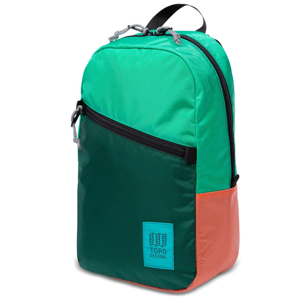 Light Pack Topo Mint/Forest/Coral