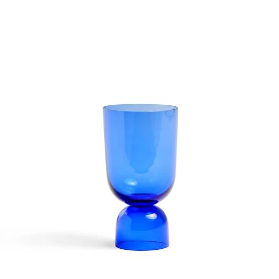 Bottoms Up Vase Electric Blue - HAY