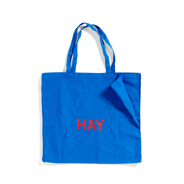 Blue Tote Bag L - HAY