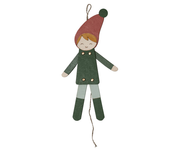 Jumping Jack Elf Boy