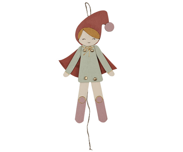 Jumping Jack Elf Girl