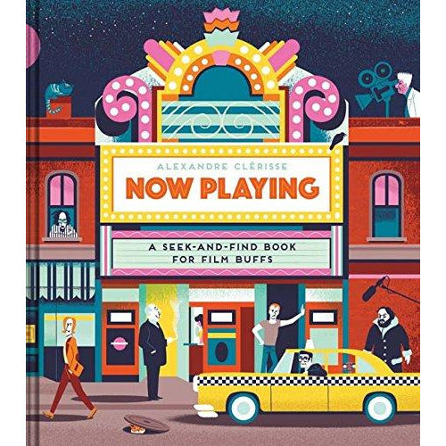 Now Playing - A Seek-and-Find Book for Film Buffs