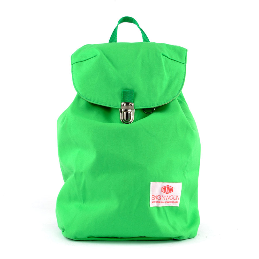 Mochila Canvas verde - BAG 'n' NOUN