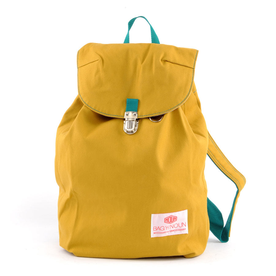 Mochila Canvas mostaza - BAG 'n' NOUN