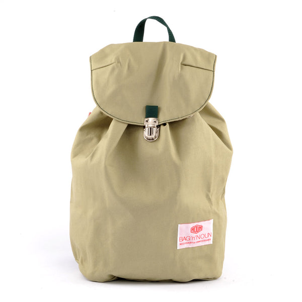 Mochila Canvas sage - BAG 'n' NOUN