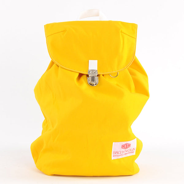 Mochila Canvas amarillo - BAG 'n' NOUN