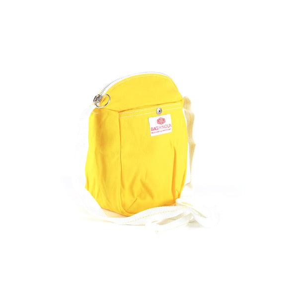 Pochette Mini Canvas Yellow - BAG'n'NOUN
