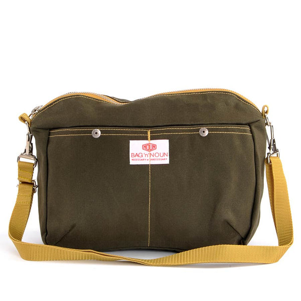 Pochette Canvas Olive - BAG'n'NOUN