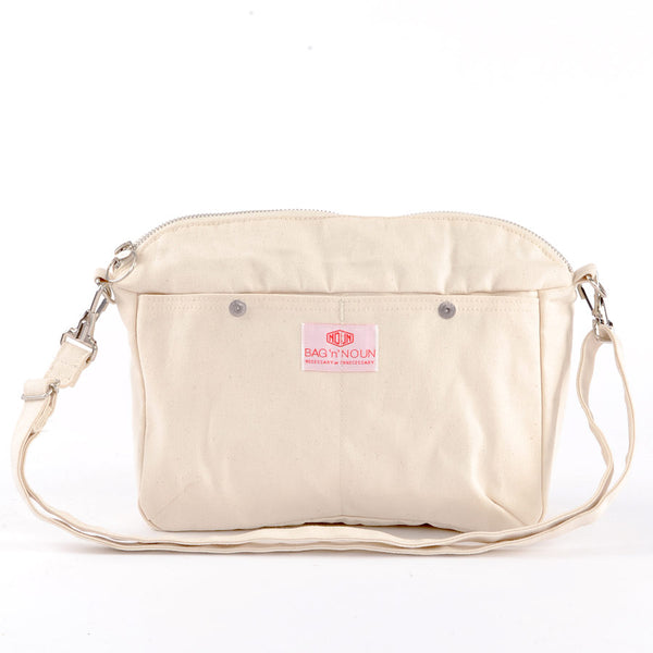 Pochette Canvas White - BAG'n'NOUN