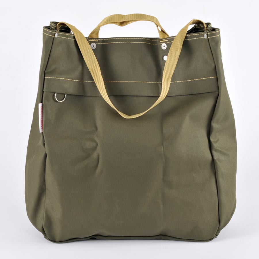 Bolsa Canvas oliva - BAG'n'NOUN