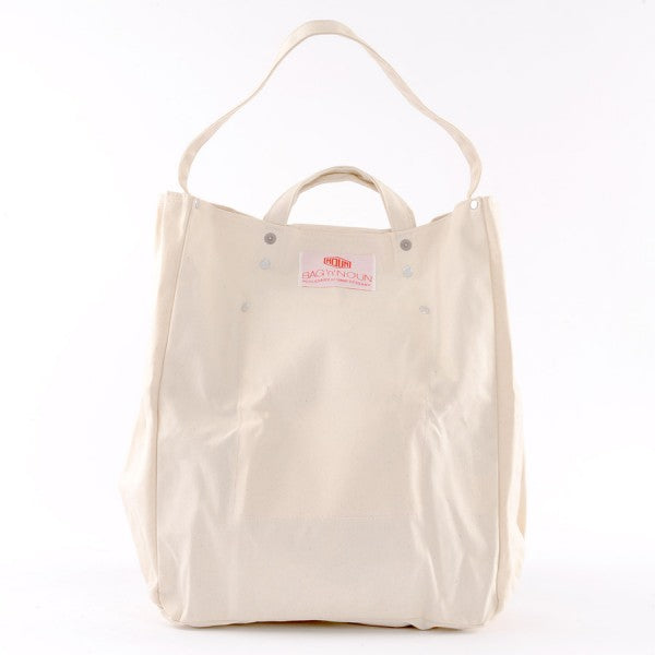 Bolsa Canvas blanco - BAG'n'NOUN