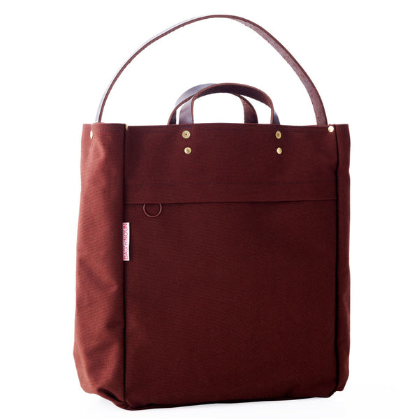 Bolsa  Quality Canvas & Piel chocolate - BAG'n'NOUN