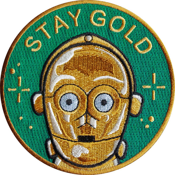 Parche Stay Gold C3PO
