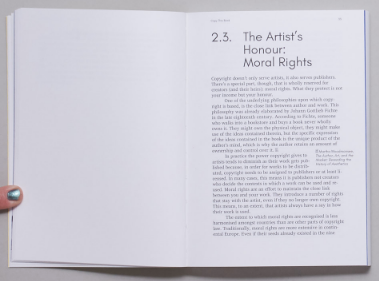 Copy This Book , An Artist's Guide to Copyright