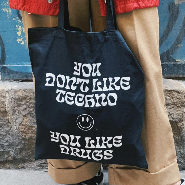 Techno Problems Tote - Miquel Vila