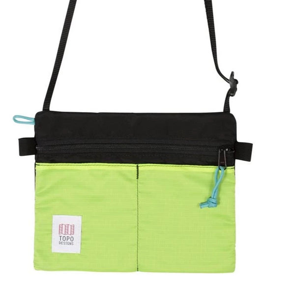 Topo Accessory Shoulder Bag Black/Neon Yellow