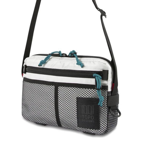 Block Bag Topo Designs White