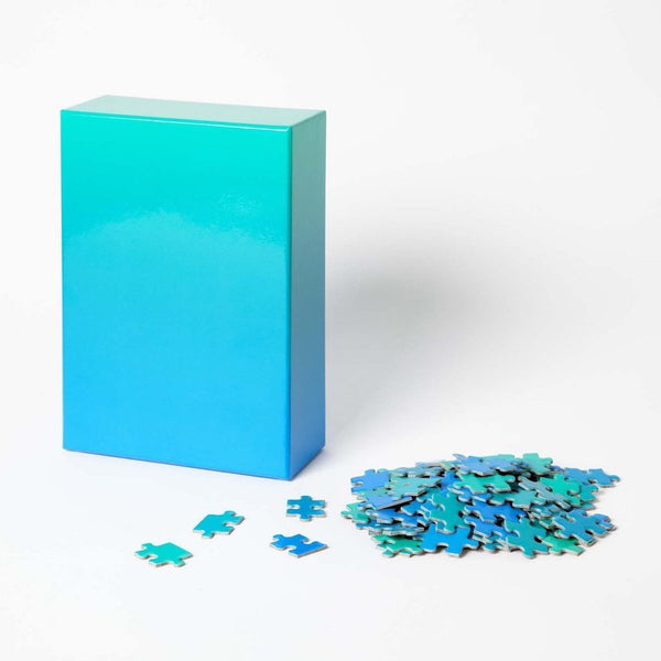 Puzzle Gradient Blue/Green 500 piezas