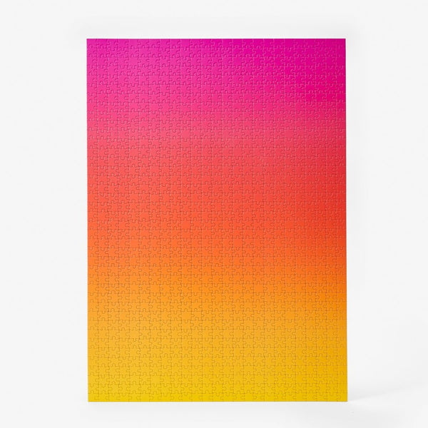 Puzzle Gradient Pink/Orange/Yellow 1000 piezas