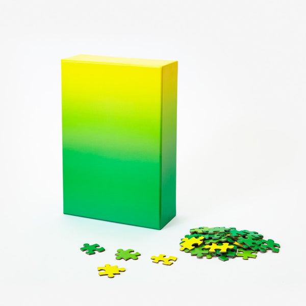 Puzzle Gradient Green/Yellow 500 piezas