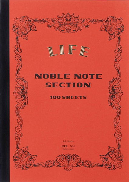 Cuaderno Life A4 Noble Note - Section