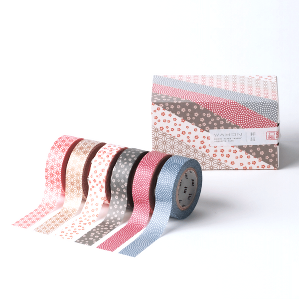 Masking Tape - 6 colores Wamon