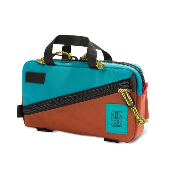 Mini Quick Pack Topo Designs Clay/Turquoise