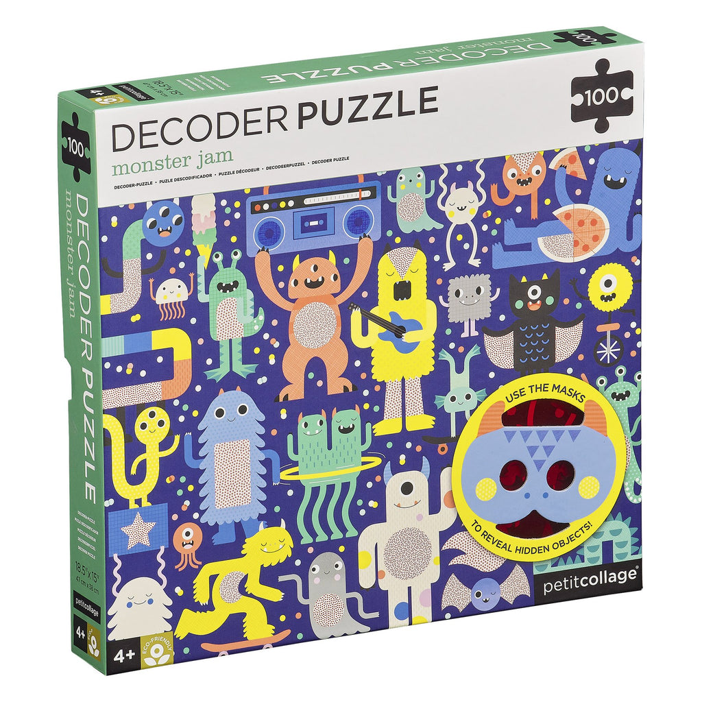 Decoder Puzzle - monster jam