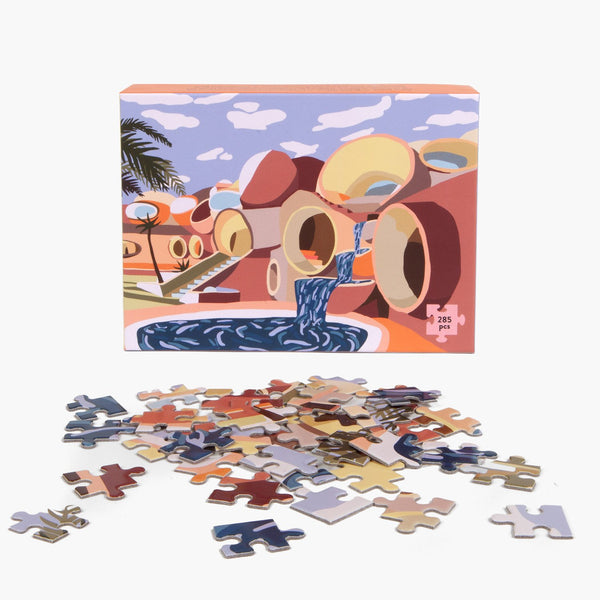 Puzzle Palais Bulles - CHARLIE BENNELL