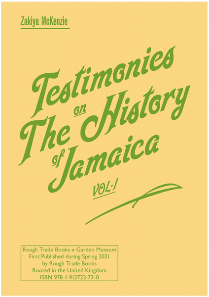 Testimonies on The History of Jamaica VOL.1