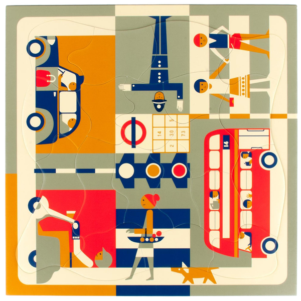 Puzzle Fredun Shapur - London