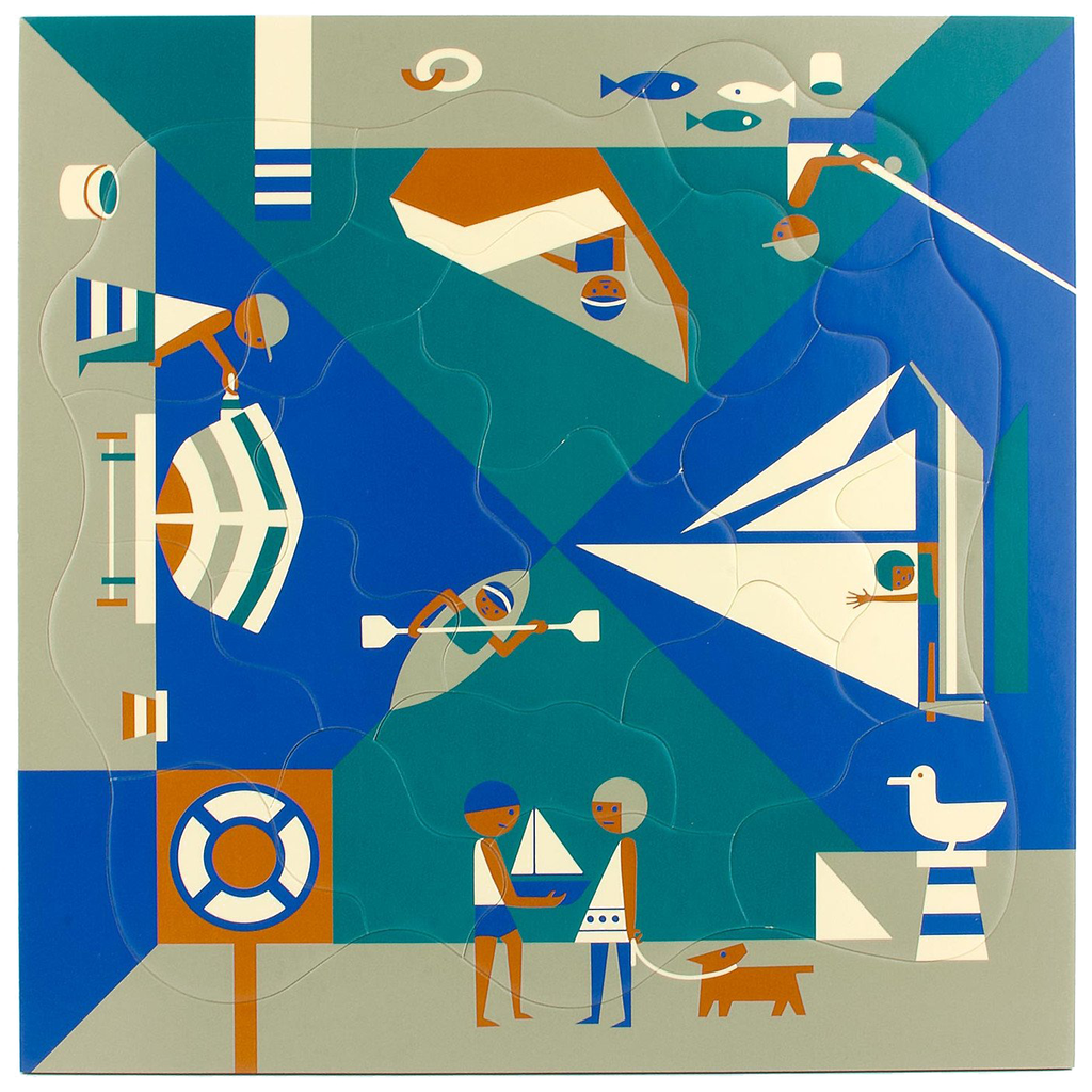 Puzzle Fredun Shapur - Seaside