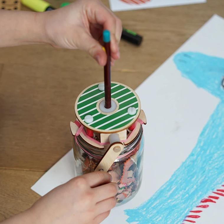 Make Your Own Pencil Sharpener DIY kit